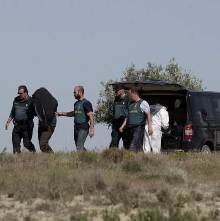 El presunto autor de la desaparición de una mujer en Madrid fue conducido a la finca de Toledo perteneciente a su tía. (Foto-efe) - copia