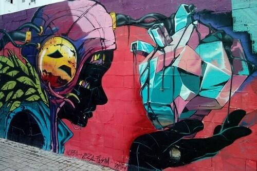 El street art llegó a Valencia para quedarse.