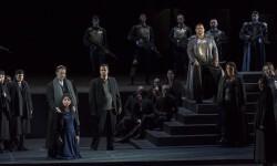 Ensayo de 'Nabucco' en el Palau de les Arts.