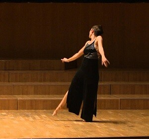 Eva Bertomeu presentará la coreografía 'Abajo el telón'.