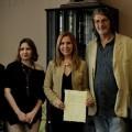 Firma del Jurado y los organizadores de certamen 'Aldaia Cuenta'.