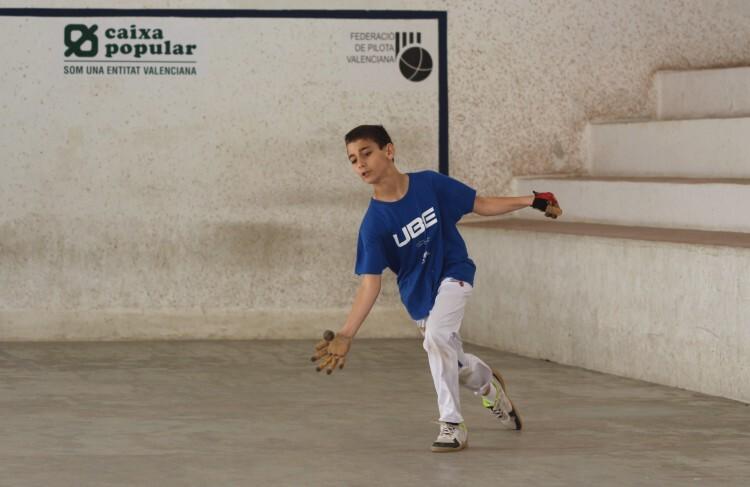 Foto. Diego de Onda, campeón alevín JEVC E I C