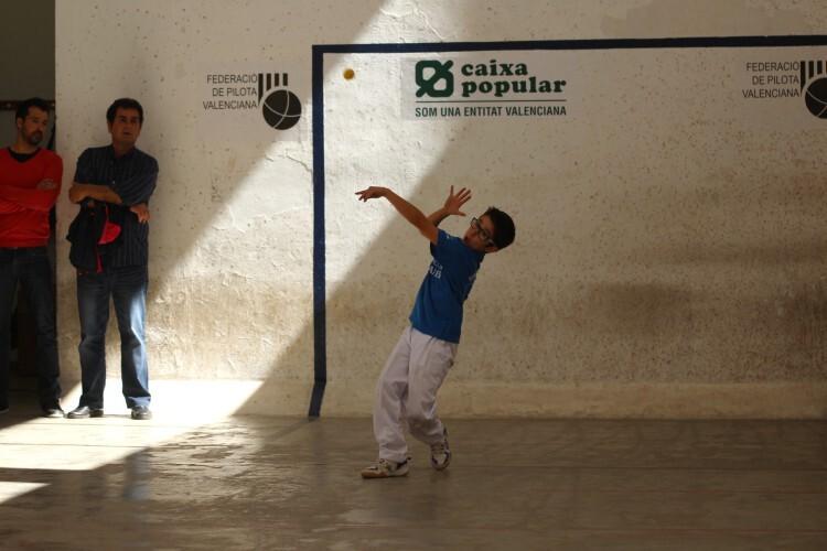 Foto. Jordi de Massamagrell, campeón benjamín JECV E I C