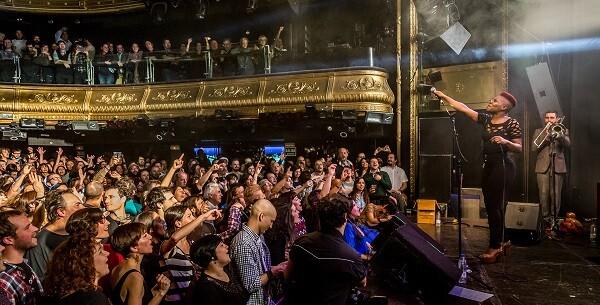 Freedonia en una actuación presentando su nuevo disco 'Dignity and Freedom'.