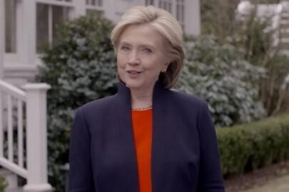 Hillary Clinton anunció anoche, a través de un vídeo, su candidatura  a las presidenciales de EE.UU.