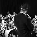 Javier Botella junto a la Big Band Copa Ilustrada.