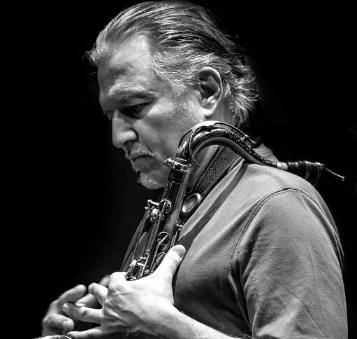 Jerry Bergonzi en una imagen tomada por el fotógrafo Antonio Porcar.