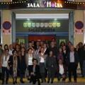 La compañía L'Horta Teatre en el acto de celebración de su XL Aniversario.