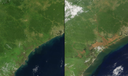 Las fotos de la NASA que muestran los efectos del cambio climático (1)