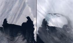 Las fotos de la NASA que muestran los efectos del cambio climático (2)