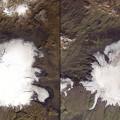 Las fotos de la NASA que muestran los efectos del cambio climático (3)
