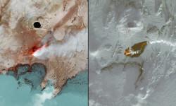 Las fotos de la NASA que muestran los efectos del cambio climático (4)