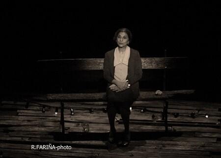 Lolita Flores llenó el Teatro Talía y recibió una merecidísima ovación por su papel de Colometa.1