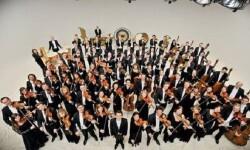 Los músicos de la Radio-Symphonieorchester Wien.