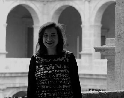 Marta Alonso en la sede la Dirección General de Cultura en el Monasterio San Miguel de los Reyes.