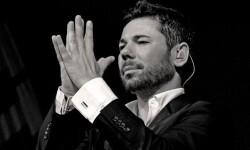 Miguel Poveda en uno de sus conciertos.