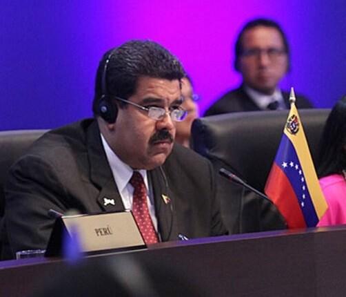 Nicolás Maduro, presidente de Colombia. (Foto-AFP)