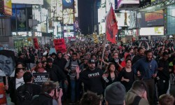 Nueva York se unió a los manifestantes de Baltimore. (Foto-AFP)