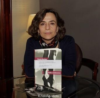 Nuria Barrios presentó en Valencia su nuevo trabajo literario.