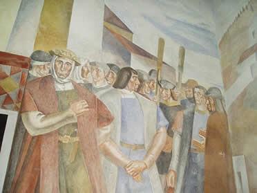Otro de los murales realizados por Daniel Vázquez Díaz.