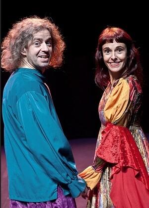 Pablo Di Filipe y Mónica Spada son los protagonistas de este espectáculo.