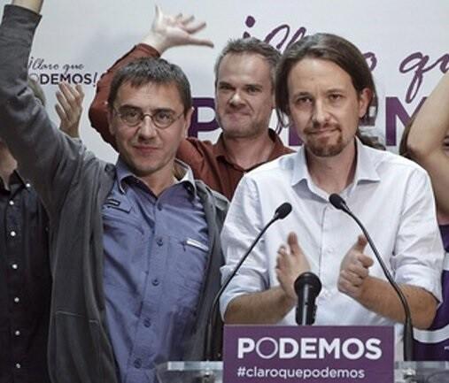 Pablo Iglesias lidera Podemos, formación que vive un momento de horas bajas.