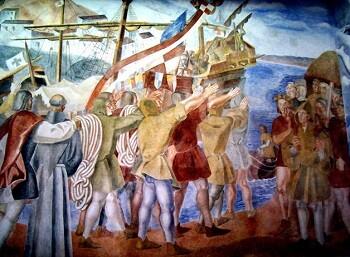 Partida de Colón de Daniel Vázquez Díaz.