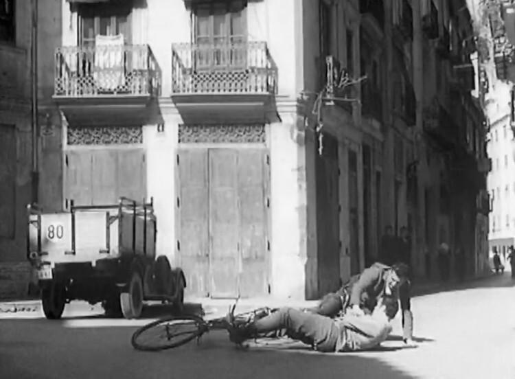 Plaza del Árbol, Pintor Fillol. 1960. A. P. R. S.