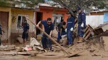 Por el momento hay 25 muertos tras las lluvias torrenciales que cayeron sobre el norte de Chile. (Foto-AFP)