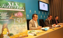 Presentación de la Feria del Libro en Alicante.