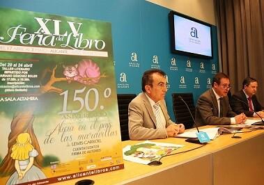 Presentación de la Feria del Libro en Alicante. - copia