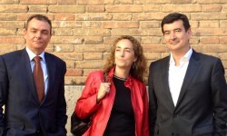 Salvador Navarro, Carolina Punset y Fernando Giner