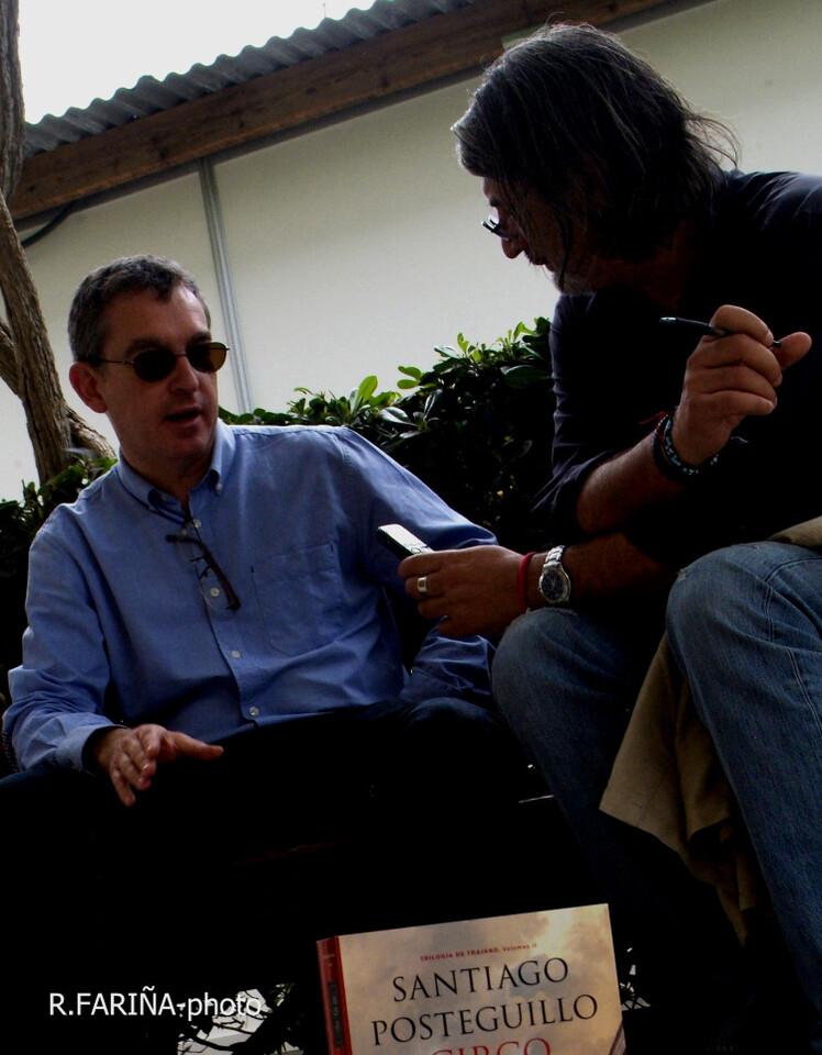 Santiago Posteguillo es una autor de éxito tanto en España como en Latinoamérica. - copia