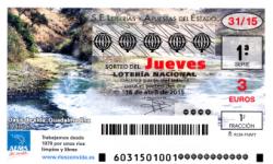 Sorteo del jueves de Lotería Nacional del 16 de abril de 2015