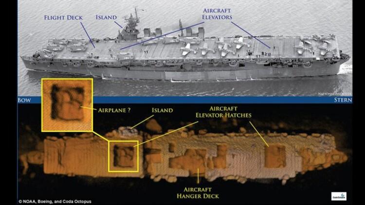 USS Independence el portaaviones sobrevivió a pruebas nucleares y un hundimiento intencional (1)