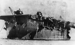 USS Independence el portaaviones sobrevivió a pruebas nucleares y un hundimiento intencional (2)