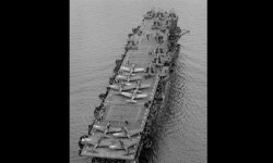 USS Independence el portaaviones sobrevivió a pruebas nucleares y un hundimiento intencional (5)