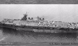 USS Independence el portaaviones sobrevivió a pruebas nucleares y un hundimiento intencional (6)
