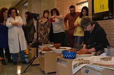 Un balance más que positivo tuvo el taller de cerámica y diseño.