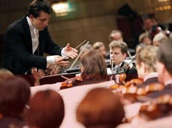 Un ensayo de la Radio-Symphonieorchester Wien.