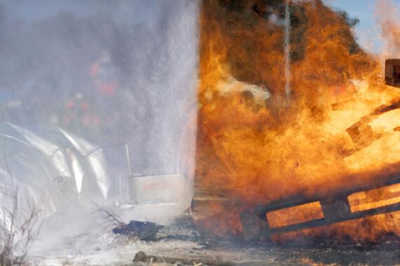 Imagen del equipo de seguridad creado y patentado por la empresa. / Safety Zone