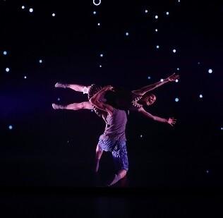 Una imagen del espectáculo 'DOT', de compañía Maduixa Teatre.