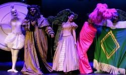 Uno de los momentos musicales del 'La Bella y la Bestia'.