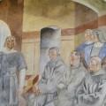 Uno de los murales del Descubrimiento de América de La Rábida de Daniel Vázquez Díaz