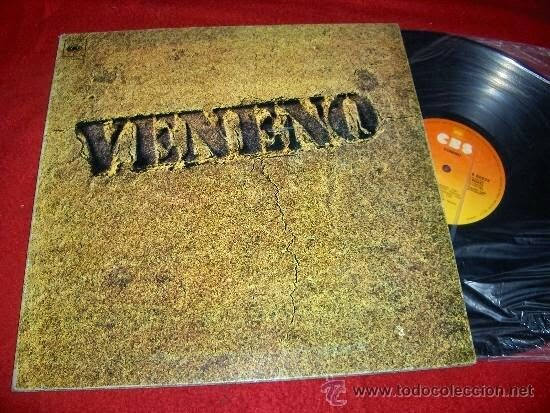 """LP. """"Veneno"""" (1977). Veneno. CBS"""
