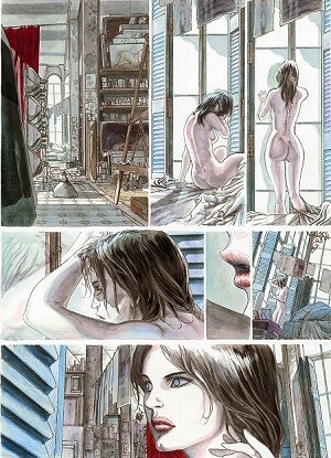 Viñetas interiores de Monika.