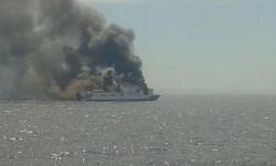 buque-sorrento-en-llamas