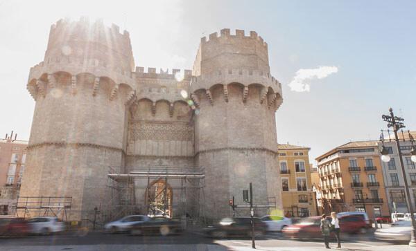Torres de Serrano. Foto: Javier Furió.