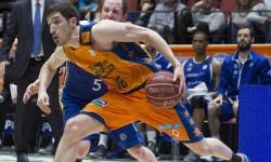Vives comandó al Valencia Basket hacia una agónica victoria ante Andorra. Foto: M. A. Polo