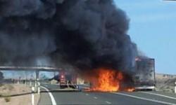 El camión se incendió y supuso un riesgo (Foto:RAAA nº 73)